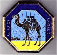 603° CARM. 603° Compagnie Approvisionnement, Réparation Du Matériel. Delsart.1181. - Army