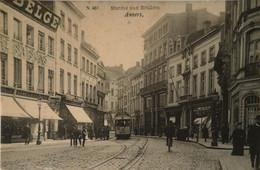 Antwerpen - Anvers /  Marche Aux Souliers (Fraaie Tram) 19?? Iets Vlekkig - Antwerpen