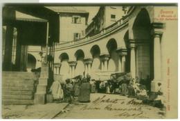 GENOVA - IL MERCATO DI VIA XX SETTEMBRE - EDIZIONE GARZINI E PEZZINI - 1900s (7422) - Genova (Genoa)