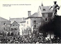 48 - Châteauneuf De Randon - Inauguration De La Statue Du Général Duguesclin Le 26 Août 1894 - Chateauneuf De Randon
