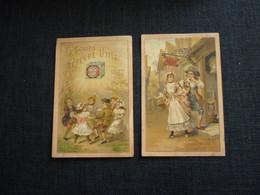 Petit Calendrier Ancien Publicitaire 1897  BISCUITS LEFÈVRE UTILE   LU - Small : ...-1900