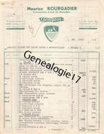 86 1615 MONTMORILLON VIENNE 1954 Autos Peugeot MAURICE BOURGADIER Automobiles Bd Gambetta Dest RIGAUD ROC - Automovilismo