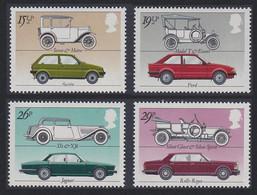 British Motor Industry Cars 4v Great Britain 1982 MNH SG#1198-1201 SC#1002-1005 - Automobili