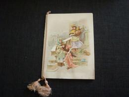 Petit Calendrier Ancien Publicitaire  1900  Gravures Et Impressions Boulu  Rue St Dominique LYON - Small : ...-1900