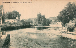 SAINT GIRONS  CPA CARTE  POSTALE - Saint Girons