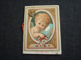 Petit Calendrier Ancien Publicitaire  1883  Magasins A La Ville De LYON - Small : ...-1900