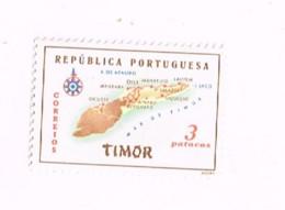 Carte De L'île,MNH,Neuf Sans Charnière. - Timor