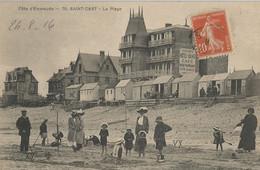CPA - Saint-Cast - La Plage - Saint-Cast-le-Guildo
