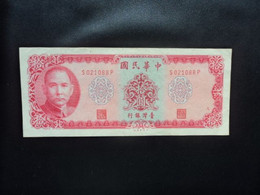 TAÏWAN : 10 YUAN   1969 (1969)   P 1979b    Presque TTB+ * - Taiwan