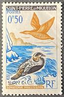 FRPM0364MNH2 - Birds - 50 C MNH - Saint-Pierre Et Miquelon - 1963 -  YT PM 364 - Neufs