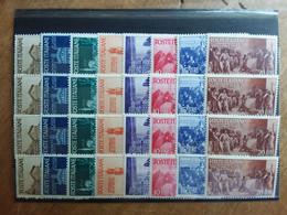 REPUBBLICA - 1946 Avvento Della Repubblica - 4 Serie Nuove ** + Spese Postali - 1946-60: Neufs