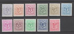 849/59 Heraldieke Leeuw  POSTFRIS** 1951 - Unused Stamps