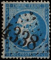NAPOLEON III.obl .n°22.GC 4338 WASSELONNE ( 67 ) - 1862 Napoléon III