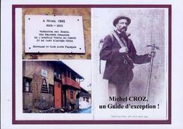 LE TOUR     ( HAUTE-SAVOIE )   CHALET MICHEL CROZ  VAINQUEUR DU CERVIN  _ PHOTO DE 14 CM.X 10 CM. - Other Municipalities