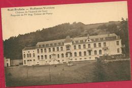 C.P. Petit-Rechain =  Château De  Péhaheid   ( De  Face )  Propriété De Mr. Aug.  De  Monty - Verviers