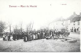 A/369        03       Tronget        Place Du Marché     Jour De Marché - Autres Communes