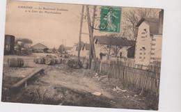Amboise Le Boulevard Gambetta  Et La Gare Des Marchandises - Amboise