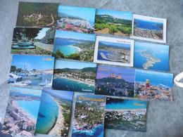 LOT  DE 304  CARTES POSTALES NEUVES  DU    VAR - 100 - 499 Cartes