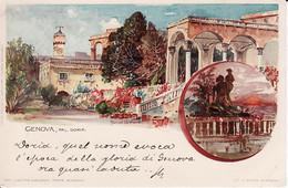 2785124Genova, Pal Doria Litho; Manuel Wielandt (poststempel 1900)(see Corners) - Genova (Genoa)
