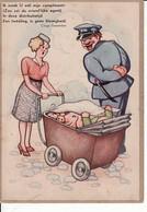2792100WO II Teksten Clinge Doorenbos – Illustratie Th. Leusen. Ik Maak U Wèl Mijn Compliment! (Zoo Zei De Vriend'lijk - War 1939-45