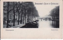 279435Amsterdam, Prinsengracht Bensdorp's, Cacao En Chocolade. - Amsterdam