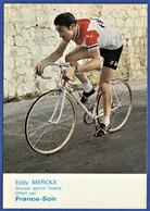 CPSM CYCLISME - EDDY MERCKX - Groupe Sportif Faema - France-Soir - Cycling