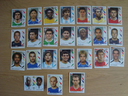 LOT DE 24 VIGNETTES PANINI FIFA WORLD CUP GERMANY 2006 - Franse Uitgave