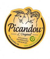 étiquette Fromage De Chèvre Picandou L'original  Fromagerie Picandine St Astier Périgord  Export  Fromi Kehl-Auenheim Al - Formaggio