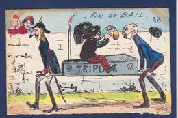 CPA ORENS Satirique Caricature Par Orens Non Circulé Estampe Tirage Limité Kaiser Autriche Italie - Orens