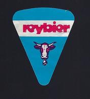 étiquette Fromage Fondu 1 Portion Triangle  Reybier Vache St Germain De Joux - Formaggio