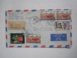 1965 REGISTERED MALI BAMAKO COVER - Malí (1959-...)