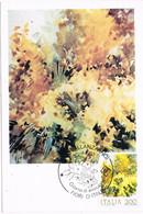 41447. Tarjeta Maxima PALLANZA (No) Italia 1983. Flowers, Flores. MIMOSA - 1981-90: Marcophilia