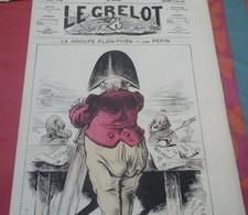 Journal Satirique Le Grelot N°268 Mai 1876 Groupe Plon Plon Prince Napoléon à L'Assemblée S'il N'en Reste Qu'un... - 1850 - 1899