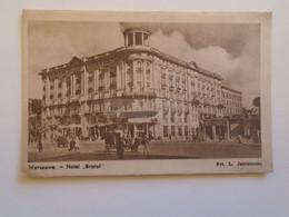 D182868     Polska Poland   - Warszawa - Hotel Bristol - Polonia