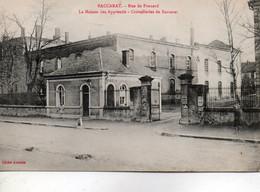 Baccarat - Rue De Frouard - Lamaison Des Apprentis, Cristallerie De Baccarat - Baccarat