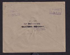 DDAA 083 - Enveloppe TP Germania Annulé Par La Censure D' Etapes - 2 Autres Censures Au Verso  , 1 Avec Paraphe - [OC26/37] Etappengeb.