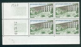 Lot 2411 France Coin Daté N°1240 Du 29/12/1959 (**) - 1960-1969