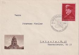 ALLEMAGNE 1941 LETTRE DE OBERSALZBERG - Lettres & Documents