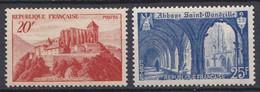 N°841 Et 842 Monuments Et Sites  Timbres Neuf  Impeccable Sans Charnières . - Unused Stamps