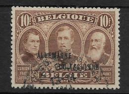 Deutsches Reich,   Gut Gestempelter Wert Der Ausgabe Für Die Belgische Militärpost Im Rheinland Vom 20. September 1919 - Occupation 1914-18