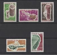 TCHAD. YT   N° 114/118    Neuf **  1965 - Chad (1960-...)
