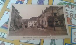 Cpa  Bliesbruck Restaurant Theobal Singer - Autres Communes