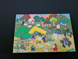 Christmas Card, Chile 1991, Klappkarte, Beschrieben - Zonder Classificatie