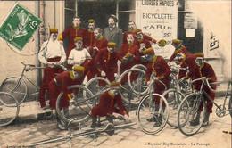 D33  BORDEAUX  L'Express' Boy Bordelais ( Livraisons Et Courses Rapides à Vélo )  Le Pansage - Bordeaux