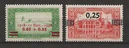 ALGERIE 1938 . N° 147 Et 148 . Neufs ** (MNH) . - Unused Stamps