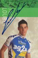CARTE DU CYCLISME, JULIEN LOUBET TEAM AG2R - PREVOYANCE 2006 - Cycling