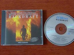 CD BOF/OST - BACKDRAFT - HANS ZIMMER - MILAN CD CH 807 - 1991 - Musica Di Film