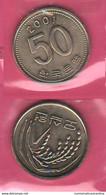 FAO 50 Won 2001 Sud Corea Korea South Nickel Coin - Korea, South