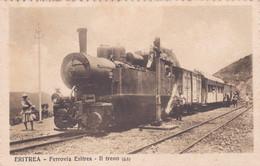 ERITREA - CARTOLINA - FERROVIA ERITREA - IL TRENO - Erythrée