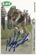 CARTE DU CYCLISME, MICHELE MACCANTI TEAM LPR 2006 - Cycling